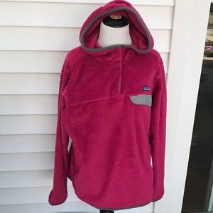 Patagonia amazing hoodie fleece in good condition